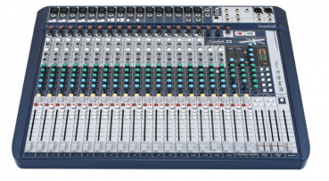 Mischpult Soundcraft Signature 22